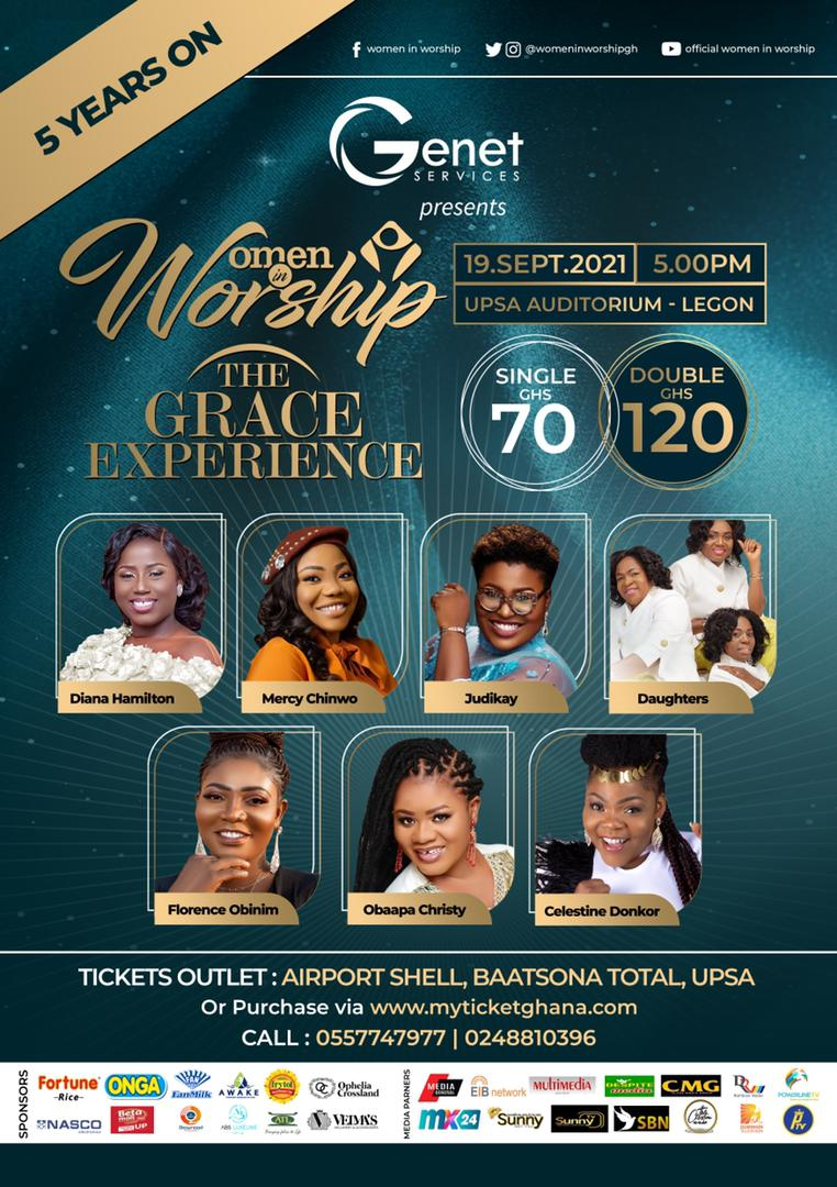 2021 EDITION OF WOMEN IN WORSHIP COMES OFF THIS SEPTEMBER