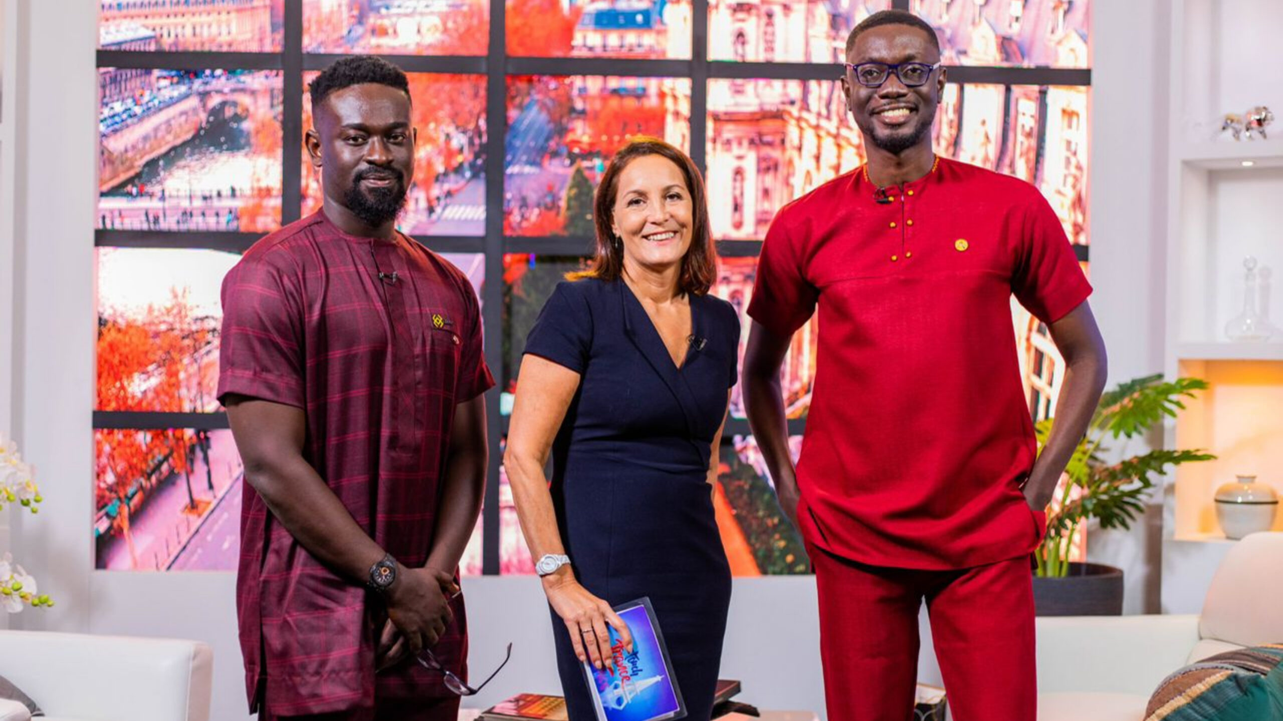 You are currently viewing Kobby Kyei Talks Social Media With French Ambassador On 'Touch of France' TV Show