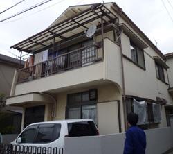 外壁塗装、屋根