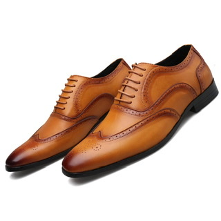 Fashion quality Men Business office shoes