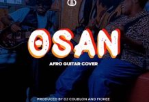 MP3: Fiokee – Osan (Afro Guitar Cover)