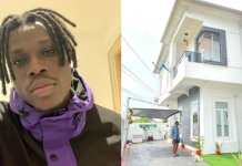 Fireboy DML Gets A New House In Lagos