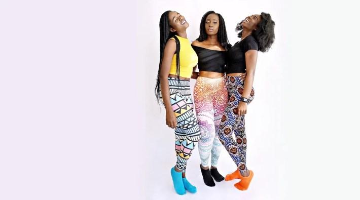 african tribal leggings
