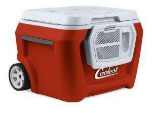 ثلاجة السيارة المحمولة Coolest Cooler