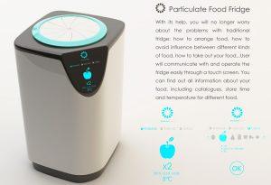 Particulate Food Fridge الثلاجة الذكية المتنقلة