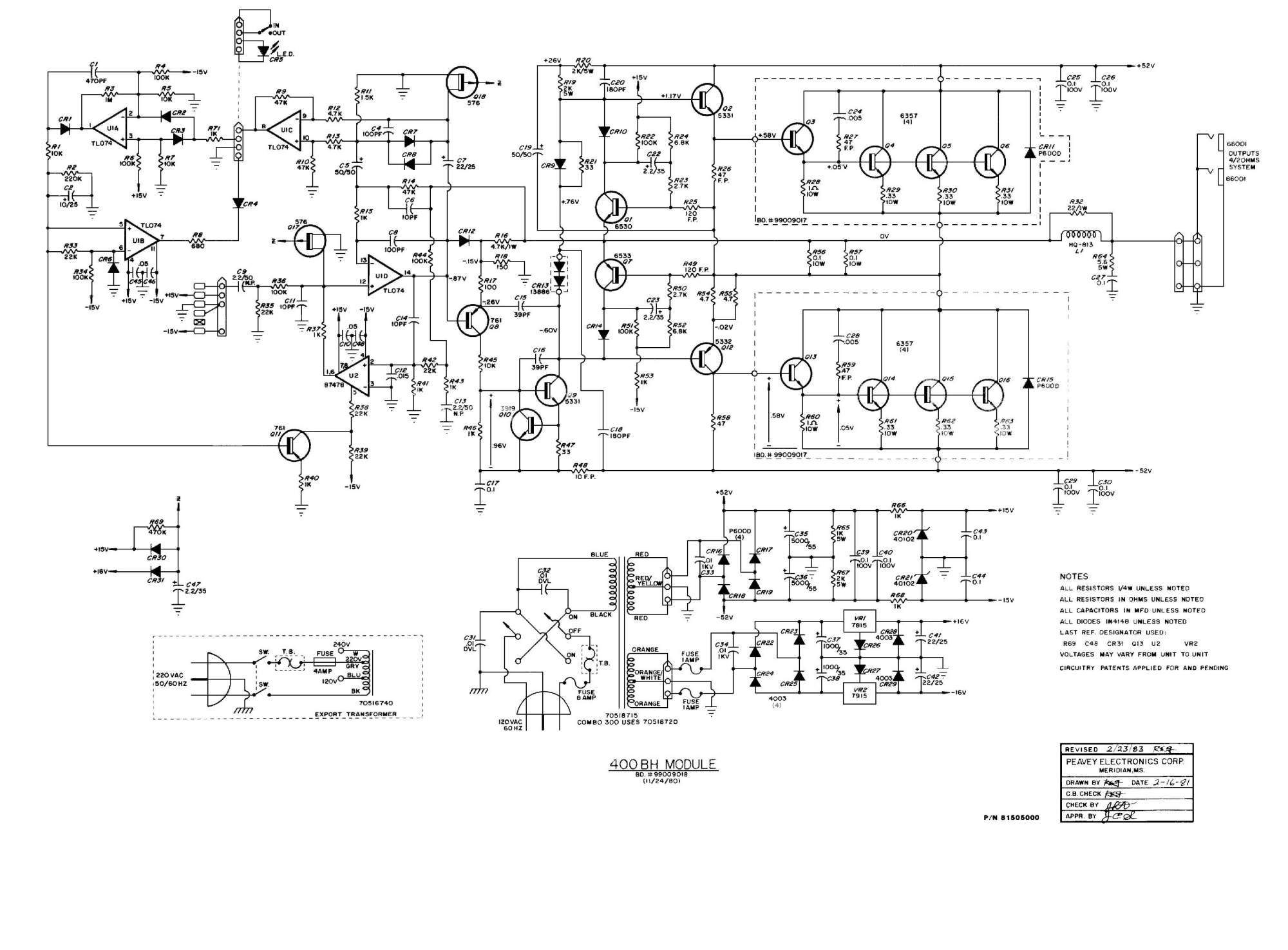 hight resolution of peavey schematic peavey vintage amp peavey amp schematics