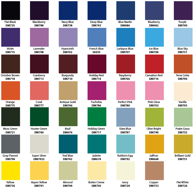 Lowes Valspar Paint Chart