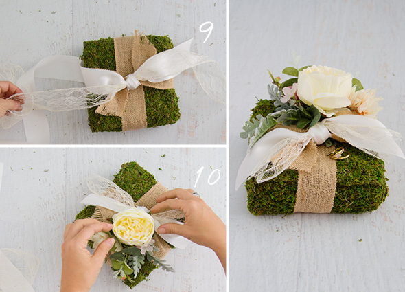 How To Make a Wedding Ring Pillow  The Koch Blog