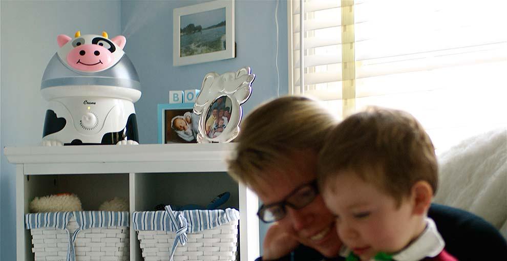 Nawilżacz powietrza dla dzieci – jaki wybrać?