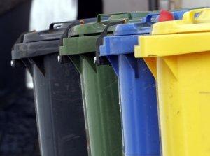 Kontejnery na tříděný odpad