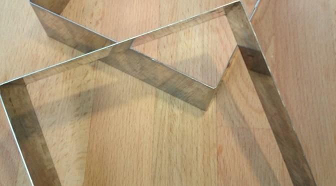 Kuchenform eckig 12x12cm