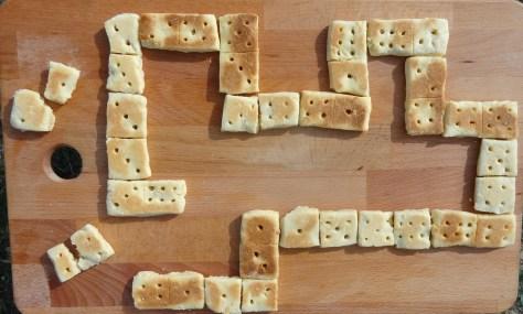 Kekse in der Pfanne backen