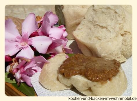 Sesamaufstrich http://www.kochen-und-backen-im-wohnmobil.de