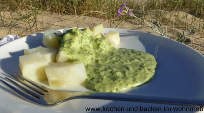 Petersiliensauce www.kochen-und-backen-im-wohnmobil.de