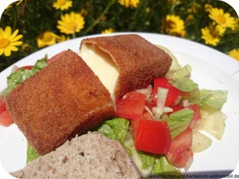 Käse paniert www.kochen-und-backen-im-wohnmobil.de