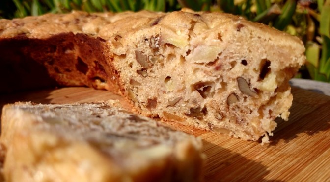 Apfel Walnuss Kuchen aus dem Omnia Backofen