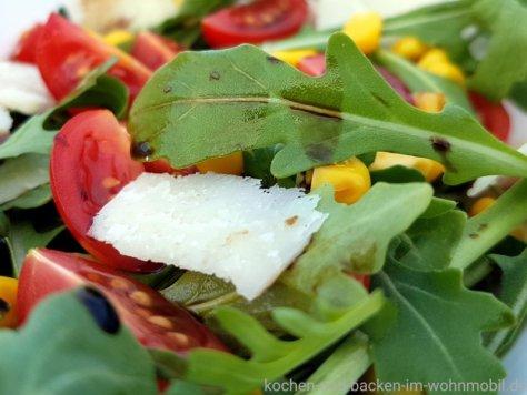 Salat mit Rauke aus Italien