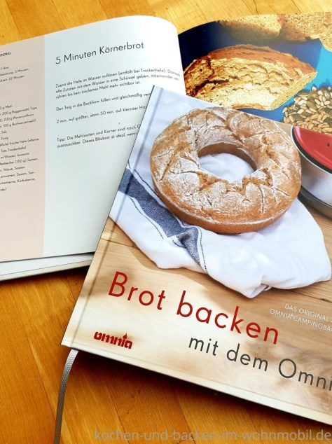 Brot backen im Omnia Ofen