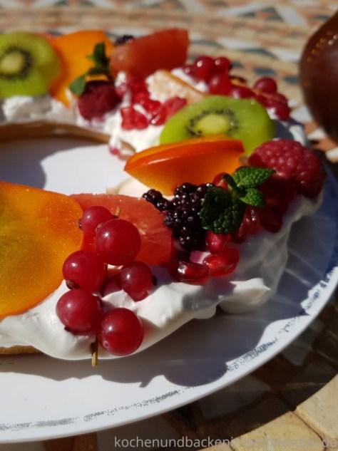 Omnia Camping Backofen: Einfach Obsttorte