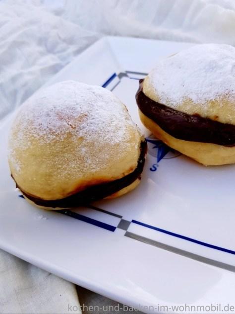 Ofenberliner oder Berliner aus dem Ofen