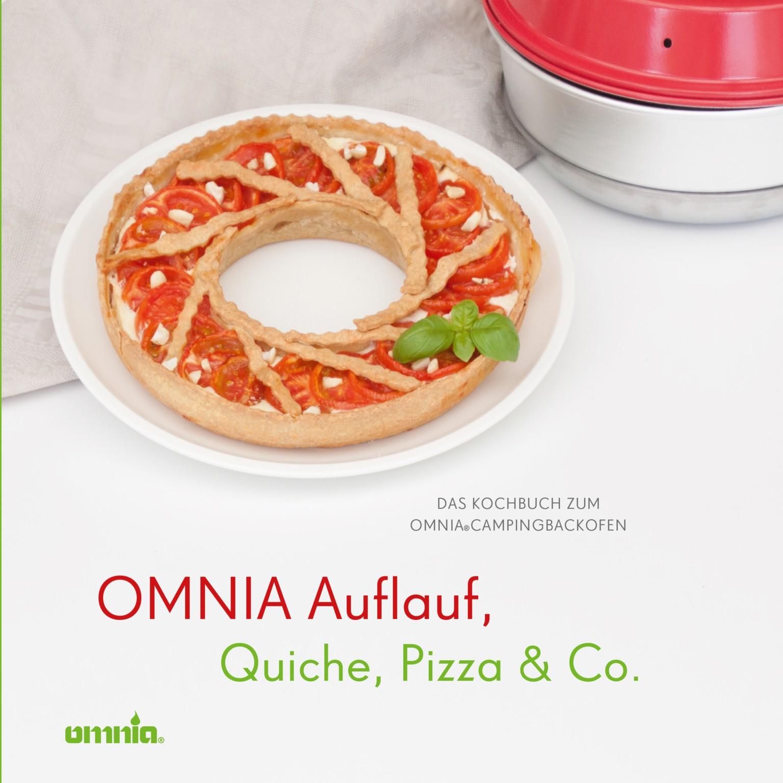 OMNIA Kochbuch für Auflauf, Quiche, Pizza & Co.