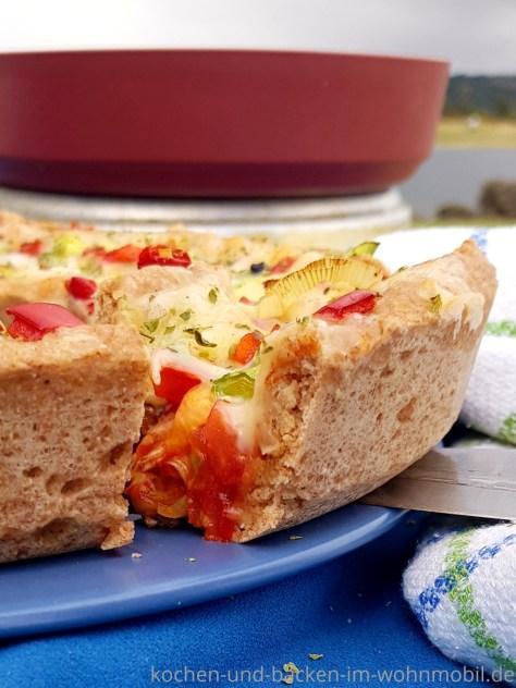 Omnia Pizza. Pizza aus dem OMNIA Backofen
