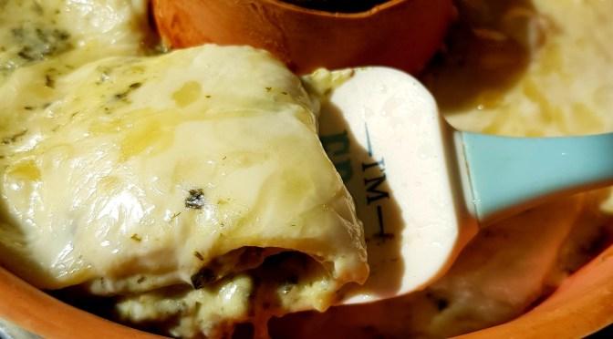 Spinat-Lasagne aus dem OMNIA Backofen