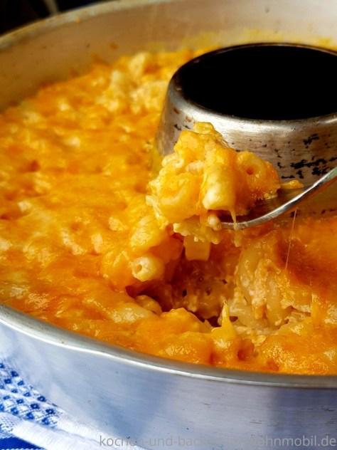 One Pot Rezept für den OMNIA: One Pot Mac and Cheese mit genausoviel Käse wie Nudeln