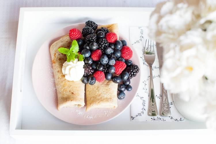 Palatschinken zum Frühstück!