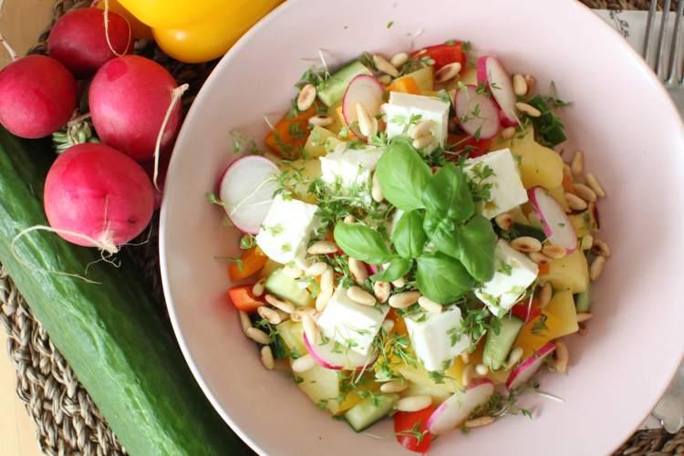 Kartoffelsalat – eine Variation