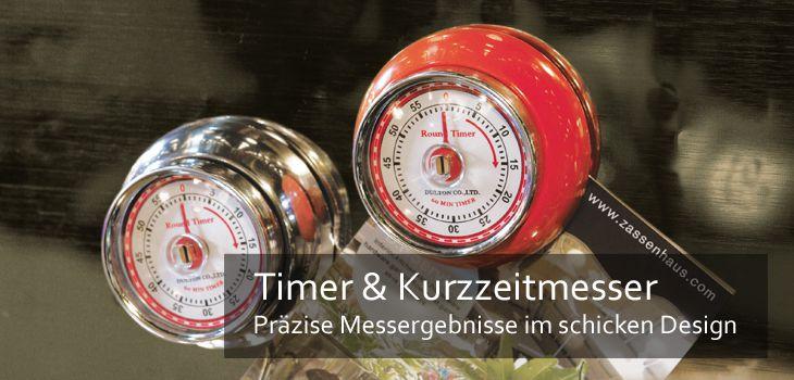 Zeitmesser fr Kche  Kochen przise MarkenTimer bei KochForm