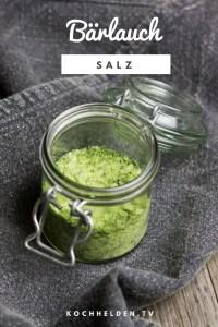 Bärlauch-Salz -www.kochhelden.tv