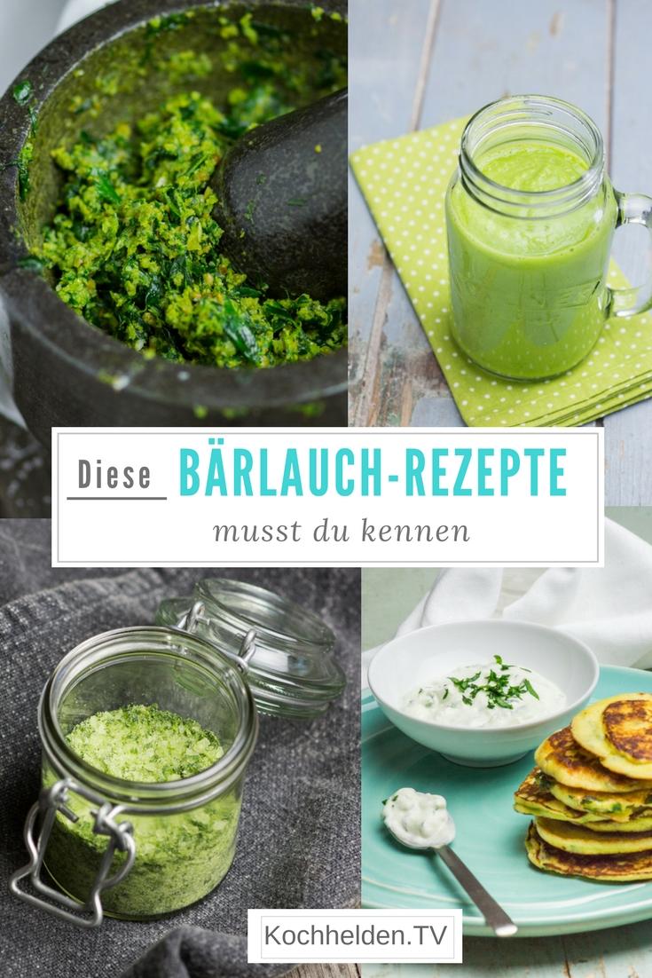 Die besten Bärlauch-Rezepte - www.kochhelden.tv