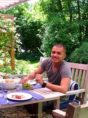 Jos Mario Surbraten und Semmelkndel  Chili und Ciabatta