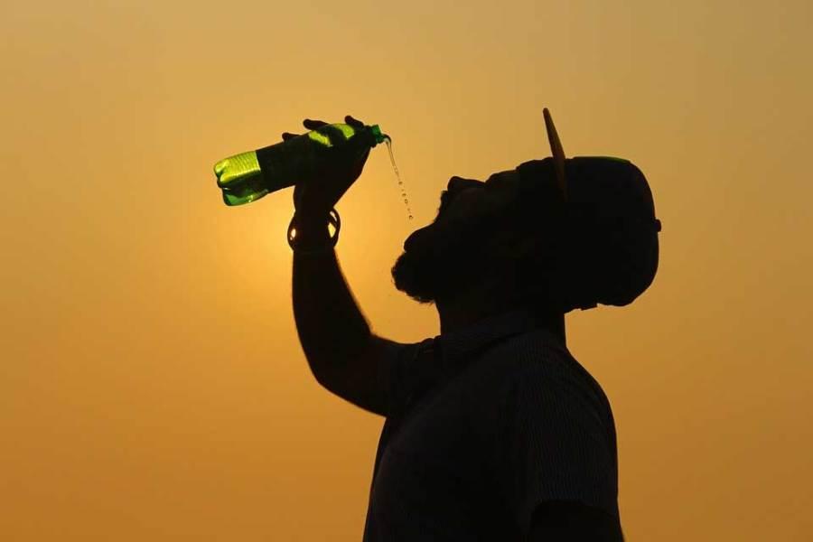 Volumen der Wasserflasche