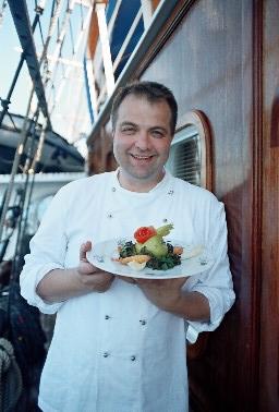 Peter Henzek auf der SY SEA CLOUD