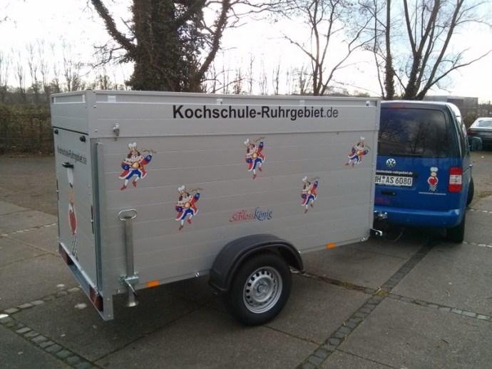 SchlossKönig unterwegs zur Veranstaltung