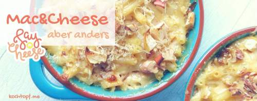 Blog-Event CXLVI - Mac & Cheese, aber anders (Einsendeschluss 15. Oktober 2018)