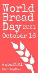 Banner World Bread Day, October 16, 2021