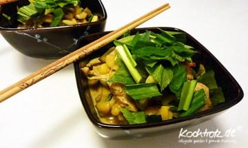 authentisches gelbes Thaicurry