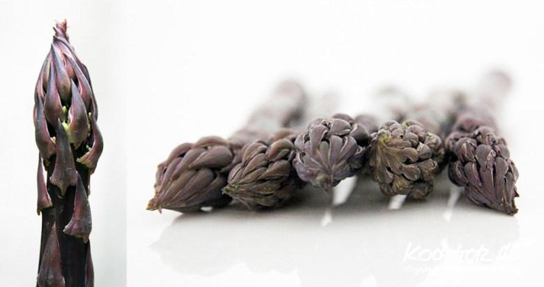 violetter Spargel