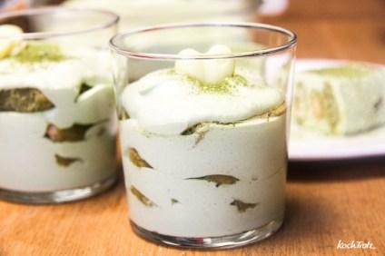 Matcha-Tiramisu   Matchamisu   alkoholfrei   optional glutenfrei, laktosefrei, ohne Ei   fructosearm, vegan