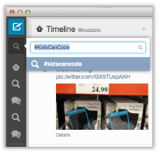 Search for #KidsCanCode