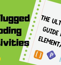 Unplugged Coding Activities   The Ultimate Guide for Elementary   Kodable  Blog [ 720 x 1116 Pixel ]