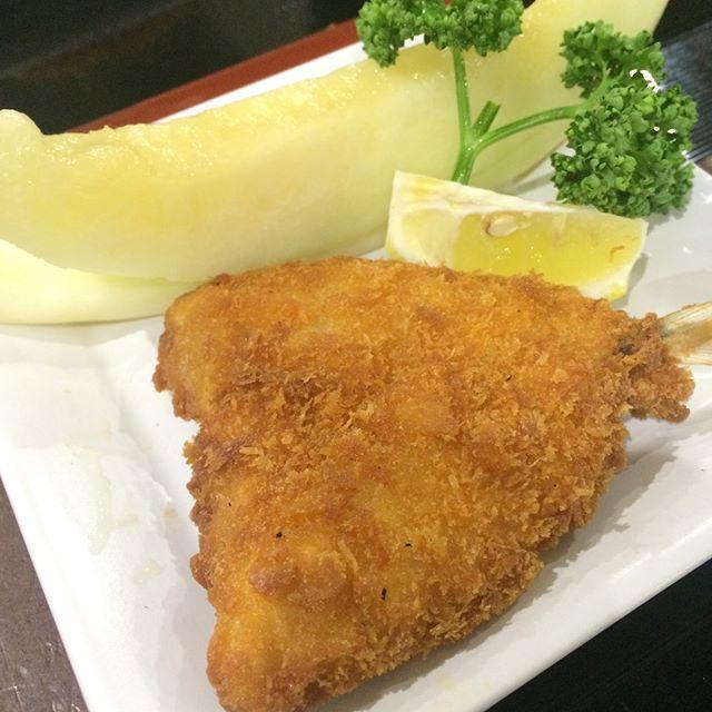 今日のランチアジフライ完熟メロンtoday lunch menus!#kodamatei #JAPAN #UDON #SOBA #Aichi #樹神亭 #愛知県 #安城市 - from Instagram