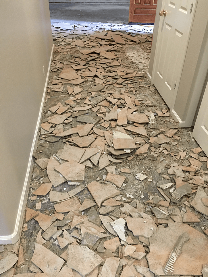 why you need chandler az dust free tile removal