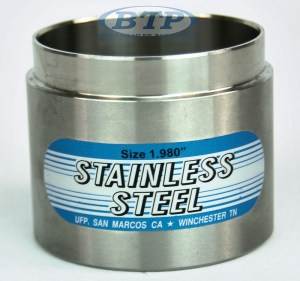 Trailer Bearing Buddy 1980 Stainless Steel Protector for 3500lb 5 Lug Hubs