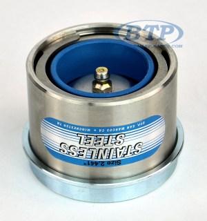 Stainless Steel Trailer Bearing Buddy Protector 2441 6 Lug Hubs