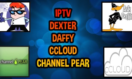 FOUR IPTV ADD-ONS – CHANNEL PEAR, CCLOUD, DEXTER & DAFFYS