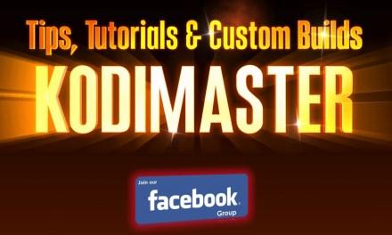 KodiMaster Facebook Group